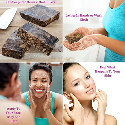 THE BEST AFRICAN BLACK SOAP FOR NATURAL SKIN 2