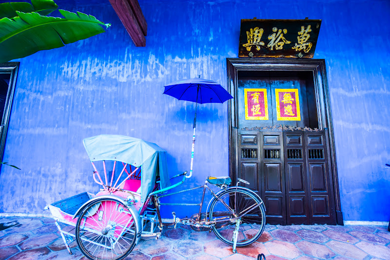 Penang Cheong Fatt Tze Mansion (Blue Mansion) rickshaw11