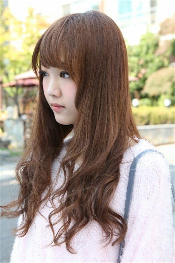 korean hairstyles for long hair 2017  styles 7