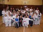 Club students in Lochee enjoying their training