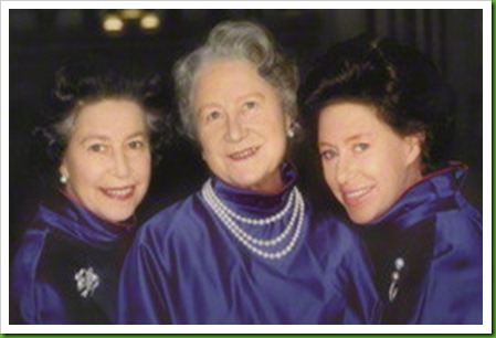 NPG P200; Queen Elizabeth II; Queen Elizabeth, the Queen Mother; Princess Margaret