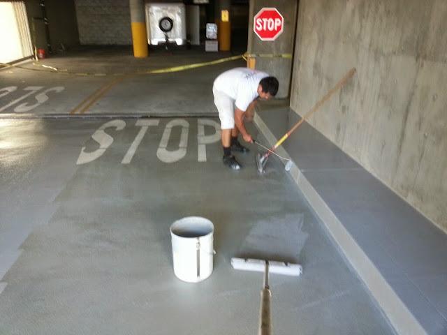 La Jolla Presbyterian Deck Waterproofing - 20131127_140301