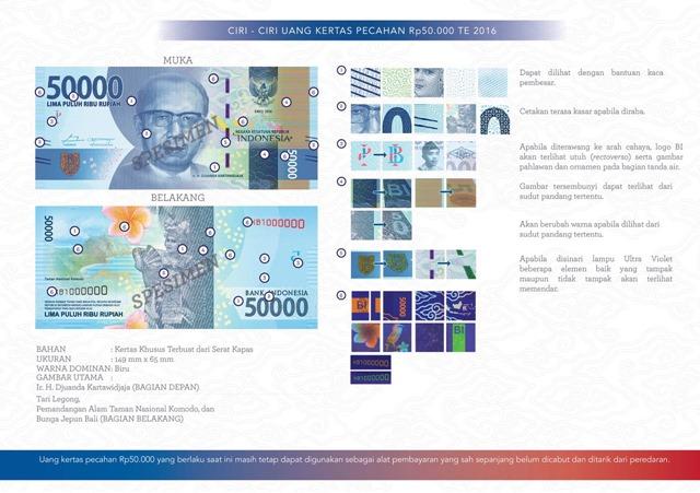 uang NKRI baru Rp50000