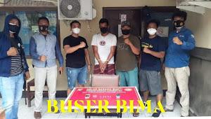 Satresnarkoba Polres Dompu Ringkus Penggedar Narkoba HR Alias Tibo