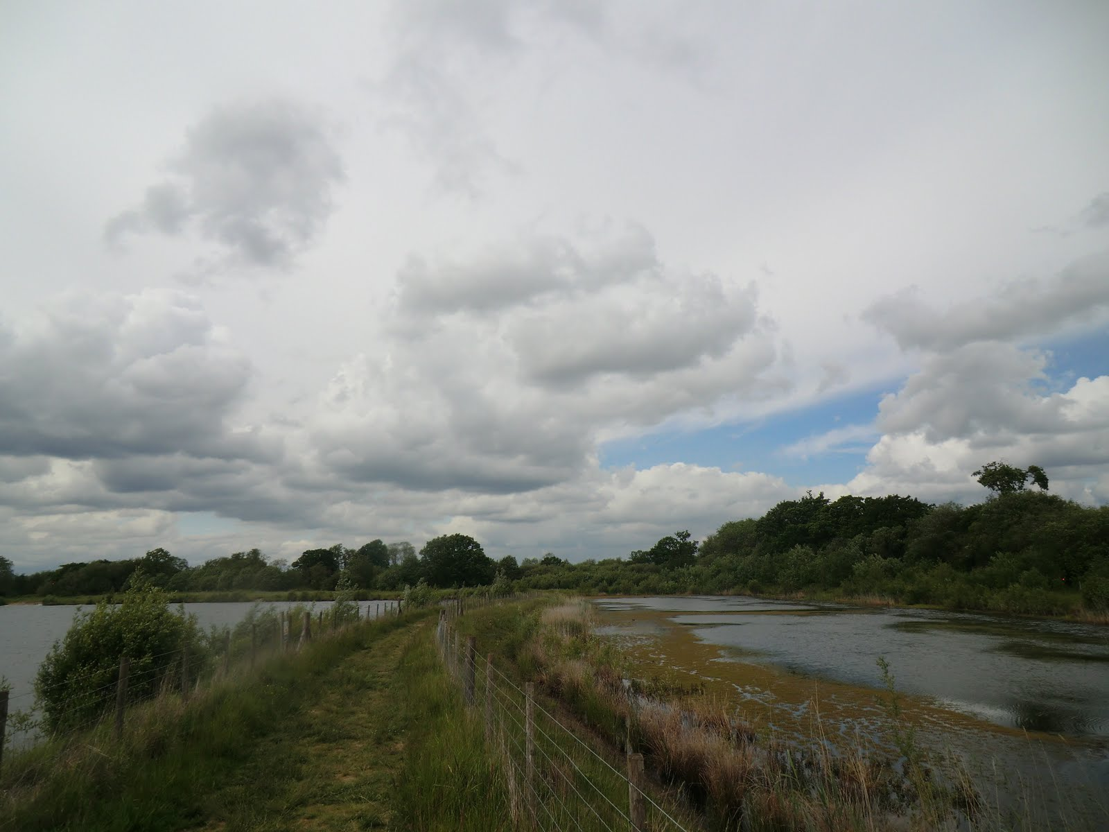 CIMG1659 Between flooded gravel pits