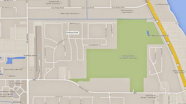 Chelsea Park Map
