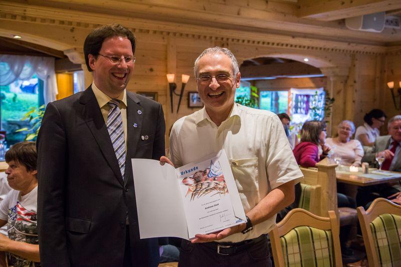 """""""70 Jahre TTC Straubing"""": Ehrung für 30 Jahre Tischtennis im Bayerischen Tischtennisverband BTTV"""