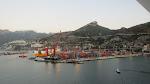 The Italian port of Salerno