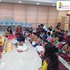 Ganesh Chaturthi Celebration by Jr KG Section (2018-19) at Witty World, Bangur Nagar