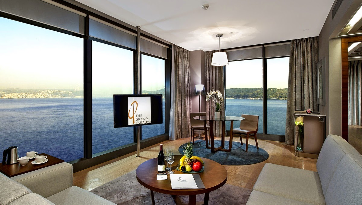 the grand tarabya hotel room
