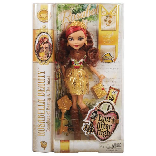 Búp bê Ever After High Rosabella Beauty Doll