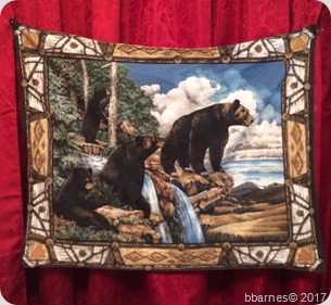 Bear tapestry 04212017