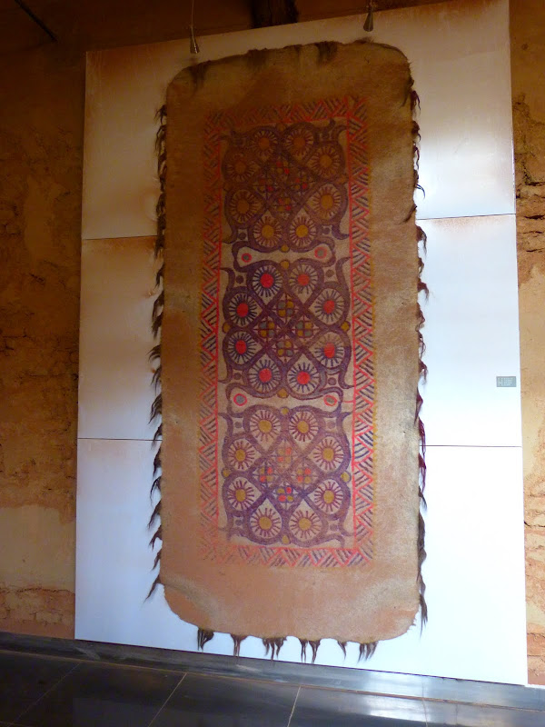 XINJIANG.  Turpan. Ancient city of Jiaohe, Flaming Mountains, Karez, Bezelik Thousand Budda caves - P1270955.JPG