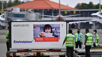 Indonesia kembali Kedatangan 10.000.280 Dosis Vaksin Sinovac