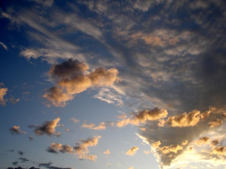 Un vortice di nuvole di Siberiana