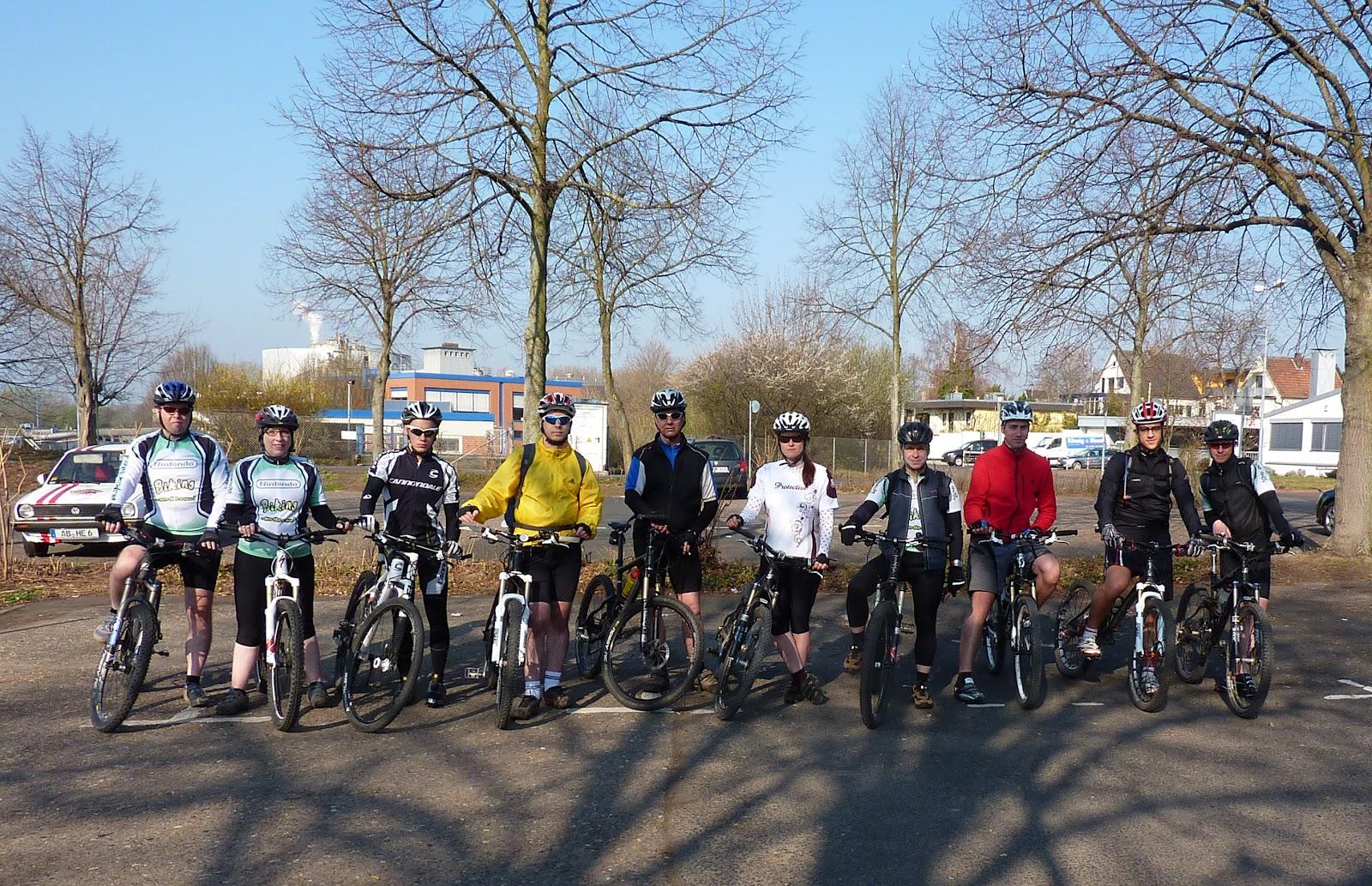 Spessart-Biker Tour am 25.03.2012