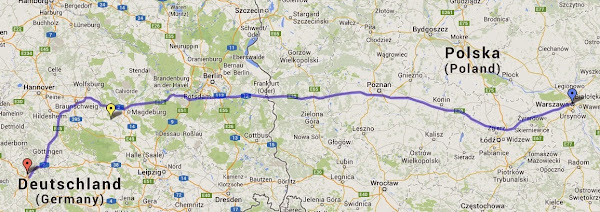 Nauczanie o Metanie - Wyjazd edukacyjny CNG do Niemiec. Ponad 1.800 kilometrów na CNG!