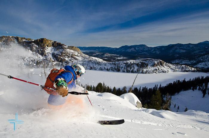 Becker Peak, Tahoe Backcountry, Backcountry Skiing, Meghan Kelly, Becker Peak, Desolation Wilderness, Echo Lakes, Tahoe South