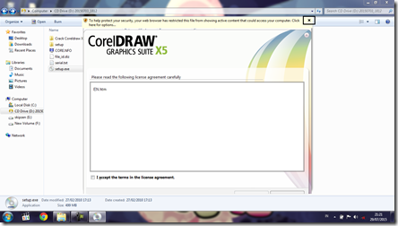 Install CorelDRAW Graphics Suite X5 - 4