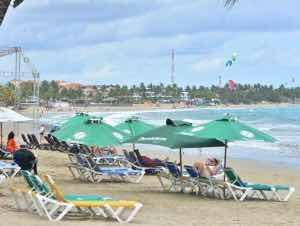 Playas y balnearios Costa Norte listos para acoger vacacionistas.