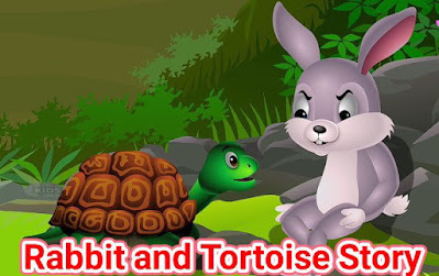 Story Of Rabbit And Tortoise In English