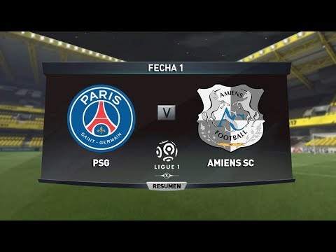[Video] PSG vs Amiens SC 2-0 – Highlights & All Goals