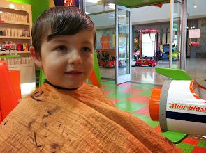 Photo: Clark Gets A Haircut