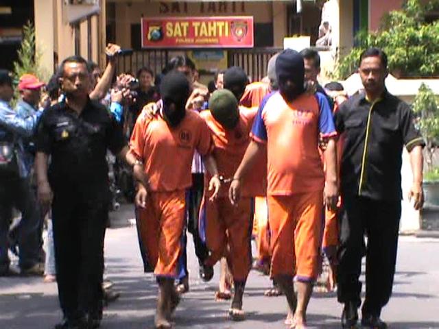 9 Pelaku Curas Curanmor Dibekuk Polisi