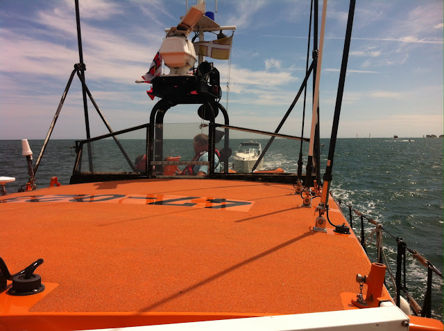 Onboard the ALB - 18 July 2015.  Photo credit: Dave Riley