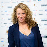 STUTTGART, GERMANY - APRIL 18 : Laura Siegemund at the 2016 Porsche Tennis Grand Prix players party