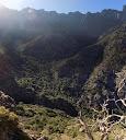La haute vallée de la Cavichja vers le Monte Saltare et la Grande Barrière