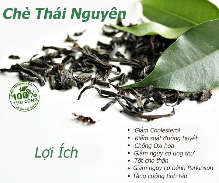 10 loi ich cua che thai nguyen voi suc khoe
