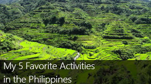 Top 5 Favorite Activities in the Philippines