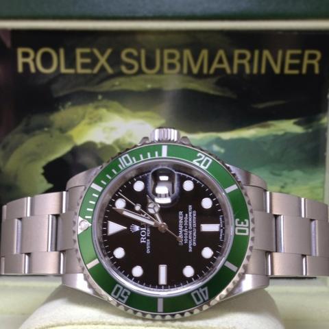662e6f0b6c14 GRACIE HOUR  (N A) Rolex Submariner LV Kermit Anniversary