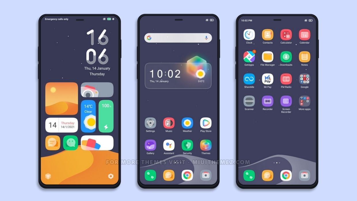 Beautification MIUI Theme