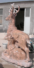 Animal, Deer, Exterior, Ideas, Statues