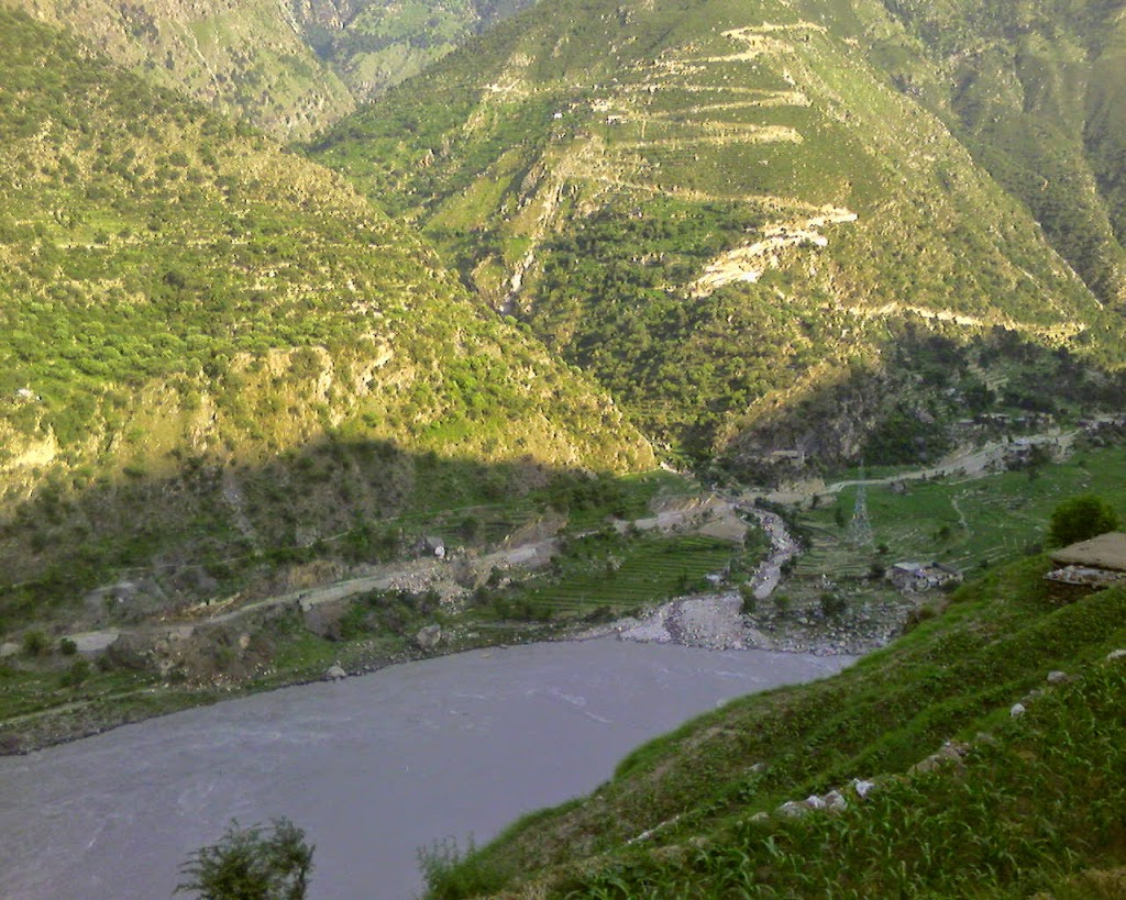 firtst glimpse of Indus