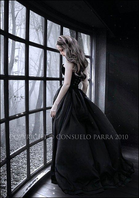 Black Princess Near The Window, Black Magic