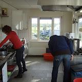 Wilma en Rob treffen de voorbereidingen ...