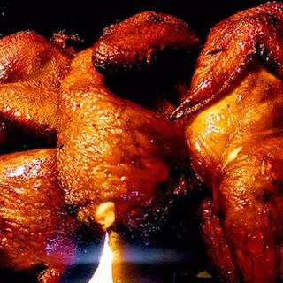 Smoked Chicken Halves