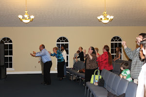 Holy Ghost Fire fell in the church!