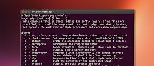 pigz in Ubuntu Linux