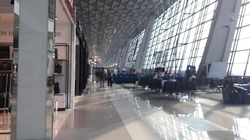 Journey :  Terminal 3 Ultima Bandara Soekarno Hatta