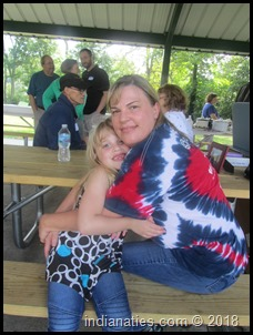 Piper Jackson and her mom, Jennifer Jackson. Piper is a great granddaughter of Jim and Peg (Weber) Stull.