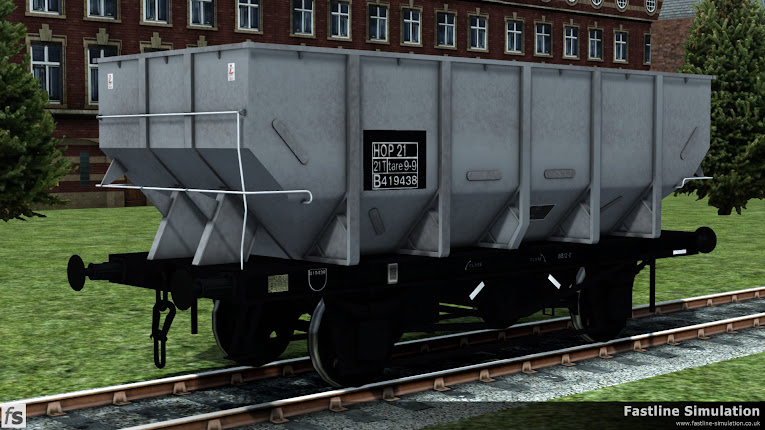 Fastline Simulation: dia. 1/146 HTO 21T Coal Hoppers