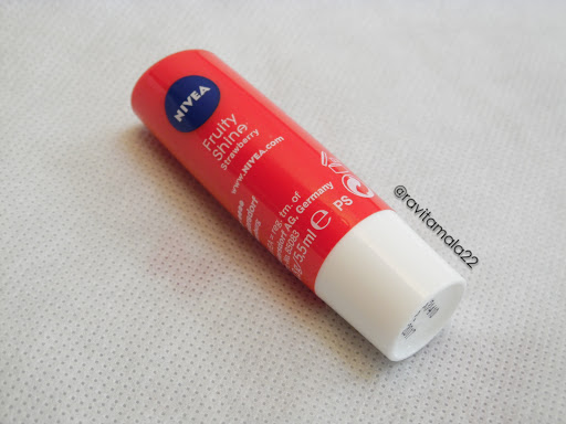 Nivea Fruit Shine Strawberry Lipbalm