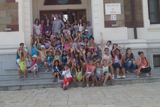 14 August - A cincea zi de tabără/Vizite la muzee/Telegondolă/Seria a VIII-a