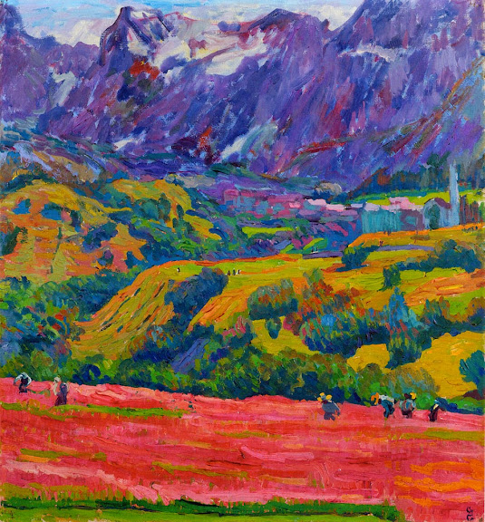Giovanni Giacometti - Frühling im Bergell