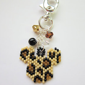 Safari Mickey Charm
