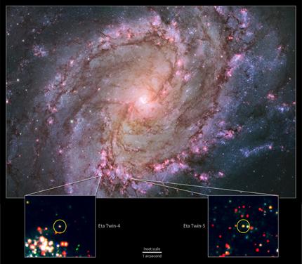 galáxia espiral vizinha M83